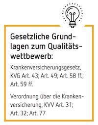 Gesetzliche Grundlagen zum Qualitätswettbewerb: